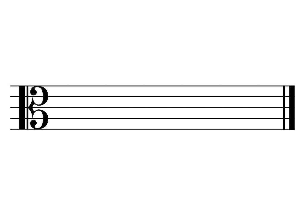 Alto C-Clef Reading Notes
