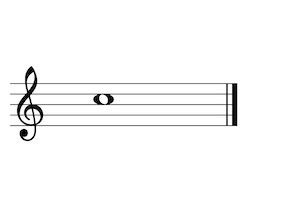 Music Note C5 G-Clef