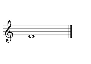 Music Note F4 G-Clef