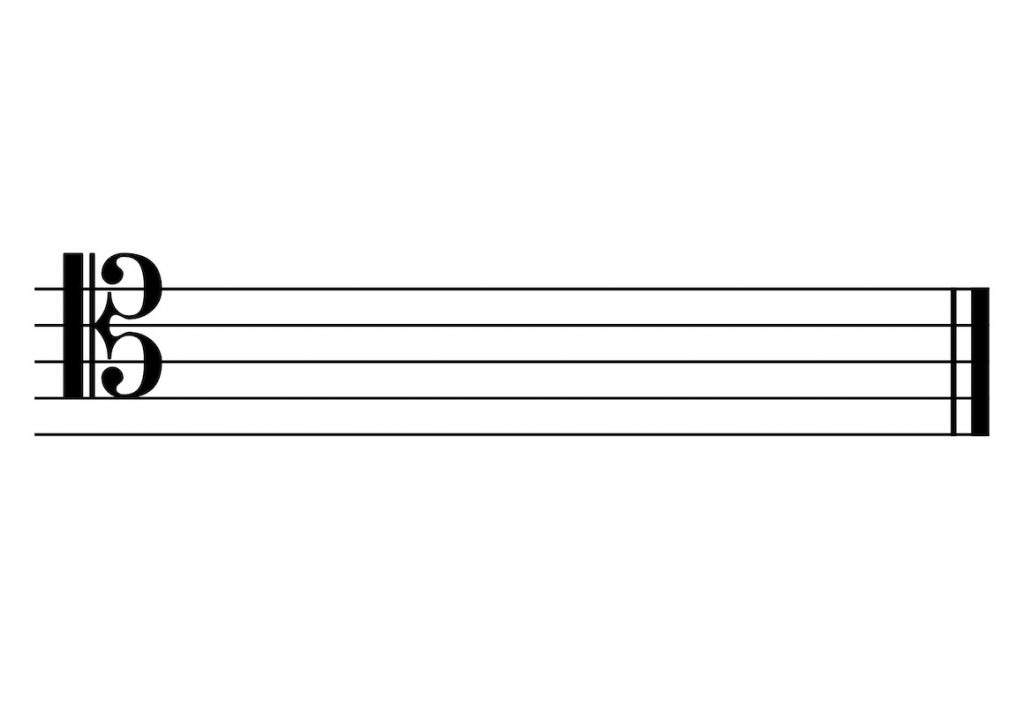 Tenor C-Clef Reading Notes