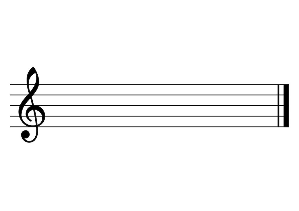 G Clef Reading Notes
