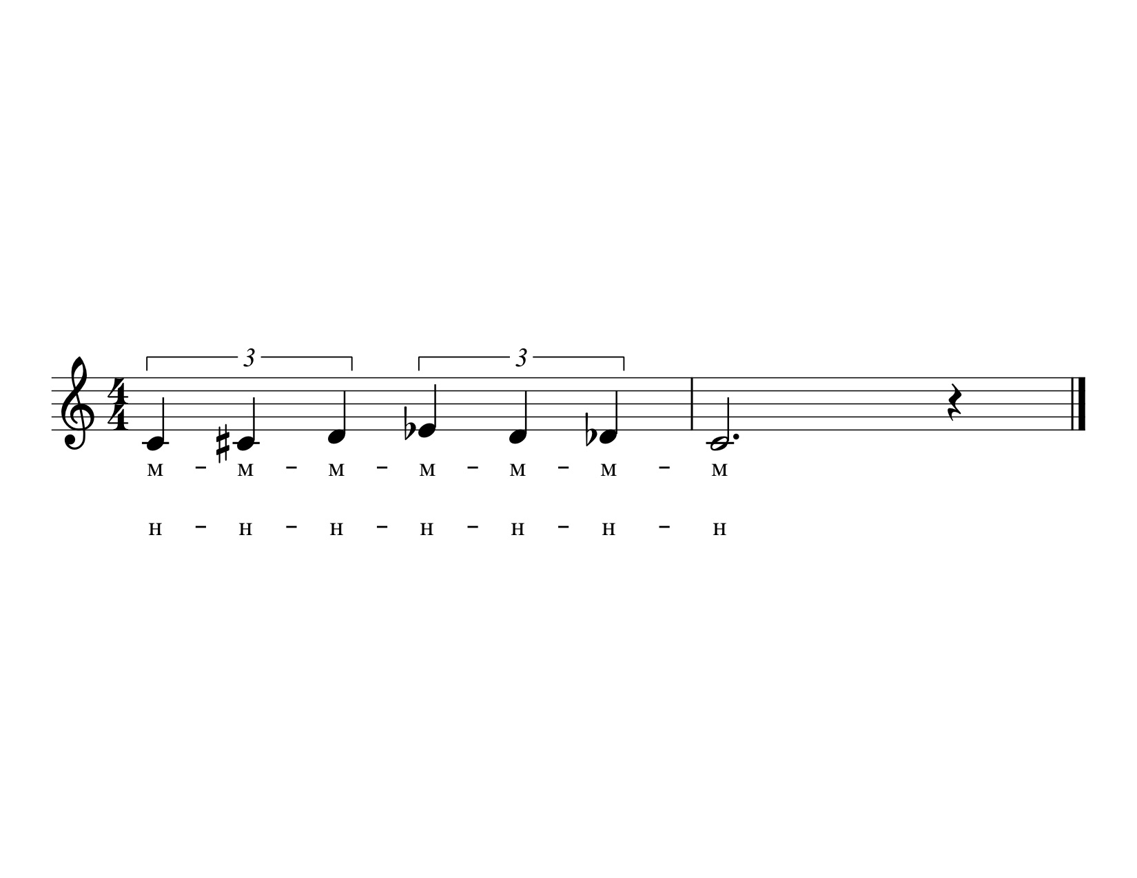 Vocal Warm Up 1 Bulgarian